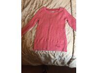 Superdry pink jumper