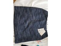 Brand new Monsoon skirt size 12 not worn and with price tag