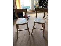 Children's ikea chairs