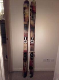 Scott mission Skiis. 178cm. mojo bindings. poles and bag