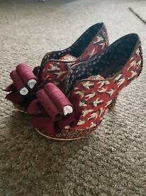 Irregular Choice size 40 Hook line and sinker