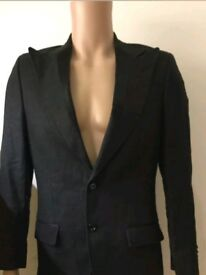 DOLCE & GABBANA MAIN-LINE COLLECTION LINEN BLAZER SIZE 36R RRP £1200