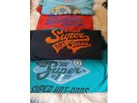 Superdry t-shirts small womens