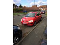 Hyundai Getz only done 59000 miles