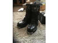 New Rock boots size 9 new £80 ono