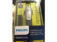 Philips one blade with 4 comb lengths