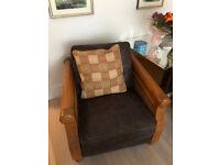 Four piece suite: 2 sofas + 2 armchairs