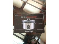 LLoytron 1.5 Litre Slow Cooker - BRAND NEW