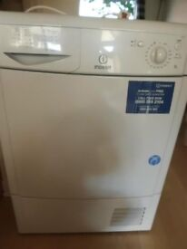 0Indesit IDC85 8kg White Condenser Tumble Dryer 1 YEAR GUARANTEE