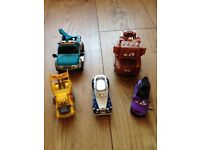 5 large cars characters