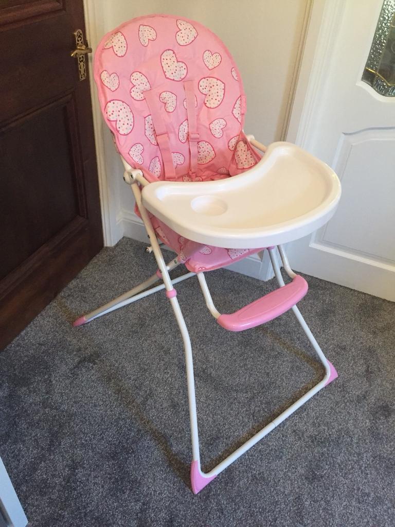 Red kite high chair £10