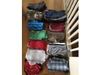 Baby Boy Clothing bundle 12-18 months, 74 items