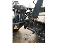 Dumper Terex 1 tonne high lift skip loader NO VAT