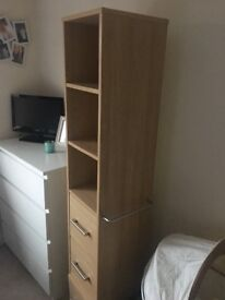 Shelving unit that spins round