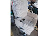 fully electric recline and raise armchair
