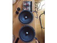 Focal ACCESS 1 6.5' 120w & ISC 570 - 5'x7' 2 Way 120w Coaxial Speakers.Orion,Vibe,Jl,alpine,jbl,fli