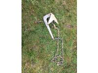 Bruce 2kg anchor and chain