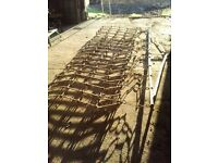Harrow and drawbar - Zig Zag - 3.5 metres (11.5ft)