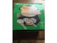 Fondue set, brand new