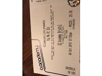 Single ticket for You Me At Six 4th October