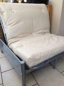 Cream Futon bed