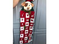 Christmas Xmas advent sweet calendar hanging decorations
