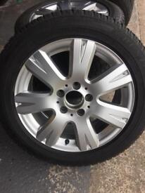 Mercedes A & C class Winter Wheels & Tyres
