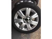 Mercedes A & C class Winter Wheels & Tyres