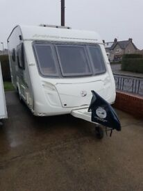 2 BERTH 2010 SWIFT ARCHWAY TOURING CARAVAN MOTOR MOVER AWNINGS ; REDUCED ;
