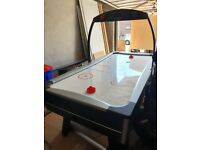 Full size electric air hockey table