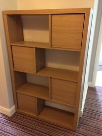 Bookshelf/display unit with Cupboards
