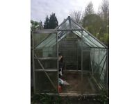 Glass greenhouse - free to dismantle & collect