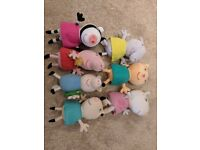 Peppa Pig soft toy character bundle