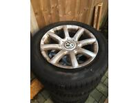 VW Alloy Wheels 5x112 with tyres