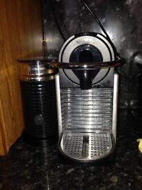 Nespresso Pixi with Aeroccino