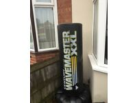 Wave master standing punch bag