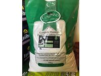 CSJ Dog Food. CP21 and CP24 total weight 23.5kg