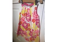 Mini Boden girls summer tunic/dress, 7-8yr