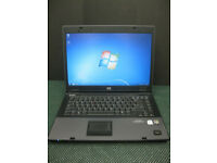 HP COMPAQ 6710b LAPTOP, 2GB RAM.15.4 SCREEN.WINDOWS 7. MS OFFICE 2007. WIFI