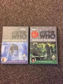 Dr Doctor Who DVDs as new mint condition £10