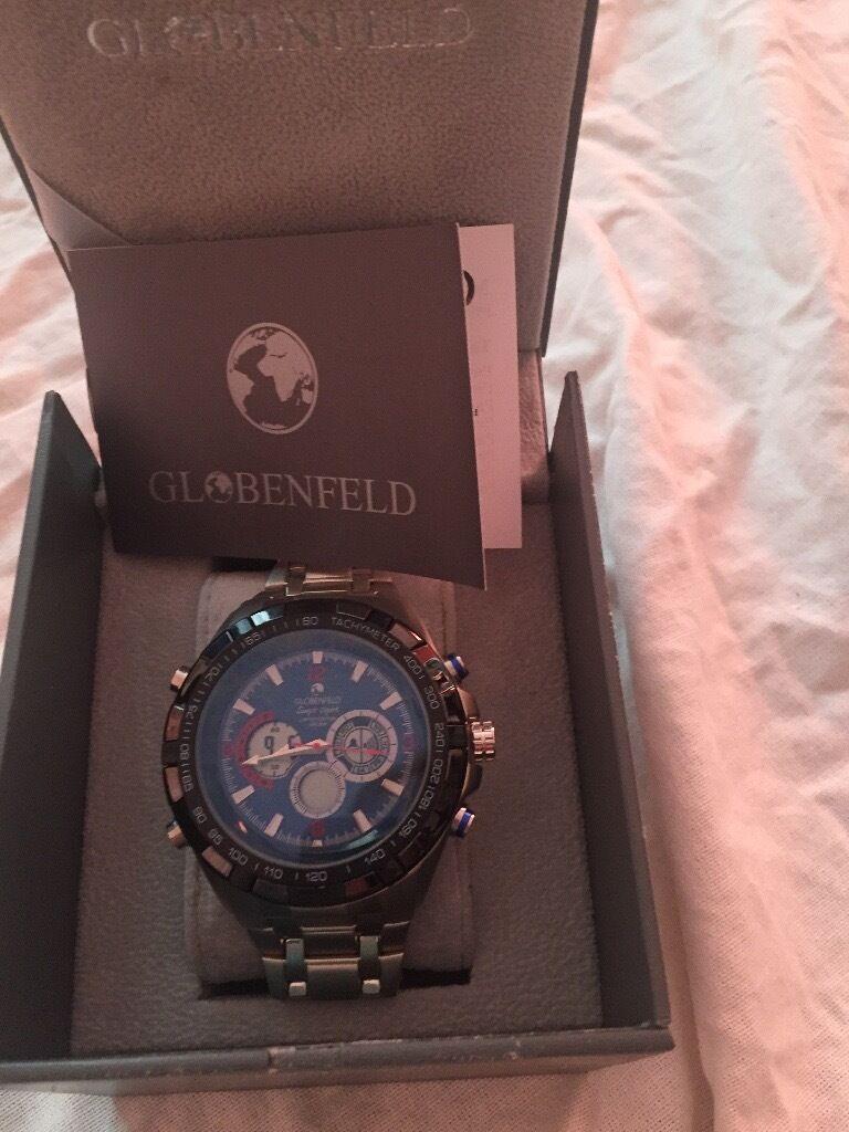 Globenfeld Jetmaster men's watch NEW unused