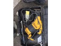 Dewalt rip saw 110 power
