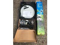 Caravan Accessories Awnings x3, water, waste, satiliette tv, full Caravan