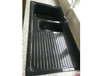 Nice black sink for sale