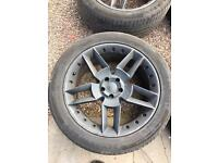 "Alloys with tyres 20"" Audi"