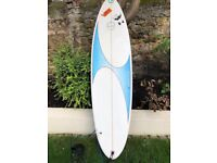 6ft 6 Circle One thruster surf board