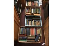 Joblot Collection Of 104 Vintage Old Books, From Early 1800s Onwards