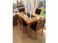Dining table & 4 chairs - gorgeous!!