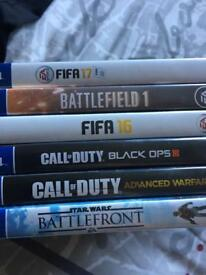 PS4 Games - COD, BF, FIFA, Star Wars BF