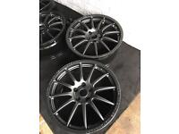 5x110 18inch Vauxhall fitment team dynamic alloy wheels. Astra,Corsa,Vectra,VXR,GSI